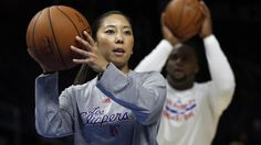 Natalie Nakase's feisty defiance could take her from Clippers' video room work to her dream job of NBA coach. #NBA #LAClippers #Basketball  Full story at http://www.latimes.com/sports/clippers/la-sp-natalie-nakase-clippers-20150208-story.html#page=1