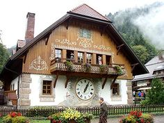 Black Forest Cookoo Clock town, Germany
