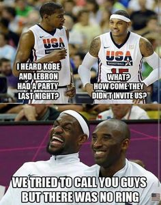 LOL! NBA humor  #shoes #sneakers #basketball shoes #nikes #lebron #james #derrick #rose #shoes #kobe #shoes #kevin #durant #shoes #nba #all #star #basketball #sneakes save up to 80% off at #lebron11pselite #com