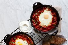 We need to talk shakshuka — now, more than ever, it's having a moment. I peg it on the popularity of Yottam Ottolenghi's Jerusalem Cookbook that this bell pepper baked egg dish has become so prevalent. I was first introduced to it by my Tunisian neighbors when I lived ...