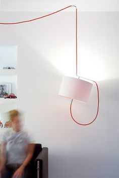 this is the way to hang your lamp!  Leuchte