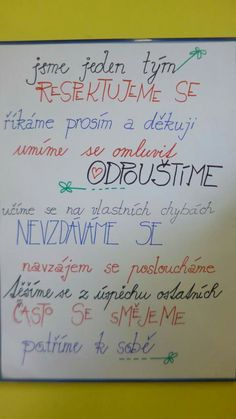 Triedne pravidlá I School, First Day Of School, Primary School, Back To School, Classroom Posters, Classroom Door, Teaching Geography, Forest School, Kids Zone