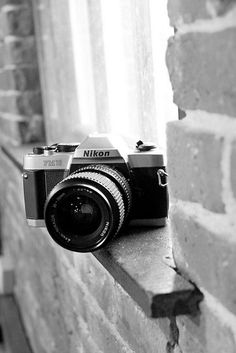 Nikon Film Camera, would love to learn film photography so much!