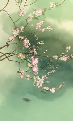 Find high-quality images, photos, and animated GIFS with Bing Images Japanese Painting, Chinese Painting, Of Wallpaper, Wallpaper Backgrounds, Wallpapers, Watercolor Flowers, Watercolor Art, Art Asiatique, Japon Illustration
