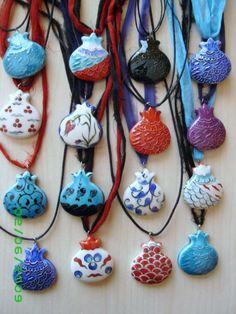 POMEGRANATE~necklaces