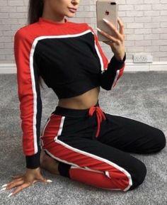 19 Ideas For Sport Outfit Adidas Gym Sport Outfits, Trendy Outfits, Girl Outfits, Fashion Outfits, Sport Fashion, Girl Fashion, Mode Swag, Adidas Outfit, Pinterest Fashion