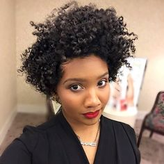 Fashionable Short Curly Synthetic Hair Lace Front Cap African American Women 12 Inches - August 03 2019 at Natural Hair Cuts, Natural Hair Styles, Tapered Haircut, Pelo Natural, My Hairstyle, Hairstyle Ideas, Natural Hair Inspiration, Synthetic Hair, Hair Hacks