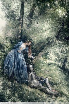 Viona-Art   La Belle Dame Sans Merci