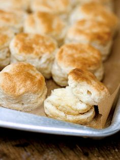 """Southern Buttermilk Biscuits Recipe (Spectacular."""" """"Sinful."""" """"Easy."""" """"Airy."""" """"Buttery."""" """"Lofty."""" """"Perfect."""" """"An absolute keeper."""" That's what folks are saying about these buttermilk biscuits. Sorta makes you want to try them, eh?)"""