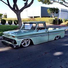 ideas for trucks Gmc Trucks, Bagged Trucks, Lowered Trucks, Chevy Pickup Trucks, Mini Trucks, Chevrolet Trucks, 1966 Chevy Truck, Chevy C10, Chevy Pickups