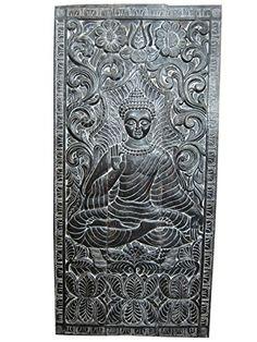 Yoga Decor Hand Carved Buddha Teaching Wall Panel Spiritual Art Architectural Mogul Interior http://www.amazon.com/dp/B00P3FDQ08/ref=cm_sw_r_pi_dp_1Zwxub0DKW0R3