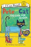 Pete the Cat can't decide what to wear to school in Pete the Cat: Too Cool for School. With so many groovy options to choose from, Pete finds the perfect way to show off his creativity. Books For Beginning Readers, Early Readers, Beginning Of The School Year, Struggling Readers, James Dean, I Can Read Books, My Books, Pete The Cats, Guided Reading Levels