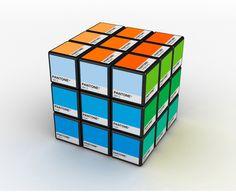 У каждого дизайнера всегда должна быть под рукой цветовая палитра Pantone. Это стандартная система подбора цвета, разработанная одноименной американской фирмой. Аргентинский дизайнер Игнасио Пилотто придумал перенести часть палетки на кубик Рубика и назвал его Rubitone.