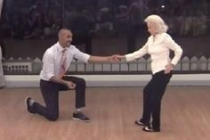When this lady walked onto the dance floor, nobody knew what to expect, but when the music started, she blew everyone away! I hope I'll be like this at 90 years You Go Girl, Reading Stories, Star Wars, Old Shows, Young At Heart, 90th Birthday, Inspirational Videos, Aging Gracefully, Adult Children