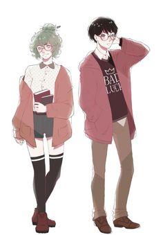 Eto & Kaneki Tokyo Ghoul