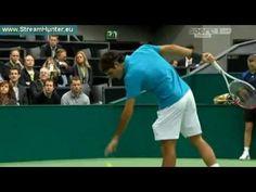 Roger Federer v Grega Zemlja | ABN AMRO World Tennis Tournament 2013 - http://sports.artpimp.biz/tennis/roger-federer-v-grega-zemlja-abn-amro-world-tennis-tournament-2013/