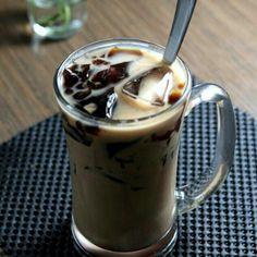 """Tea mix milk, and we call """"teh tarik"""""""