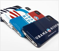 New in the #Obama2012 store today: iPhone cases, made in the USA. Pick your favorite flavor.