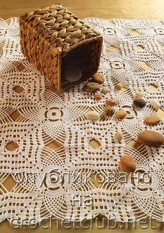 Вязаные салфетки и мелочи для дома