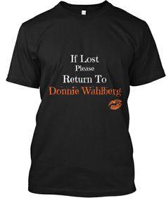 Loving Donnie Wahlberg! | Teespring