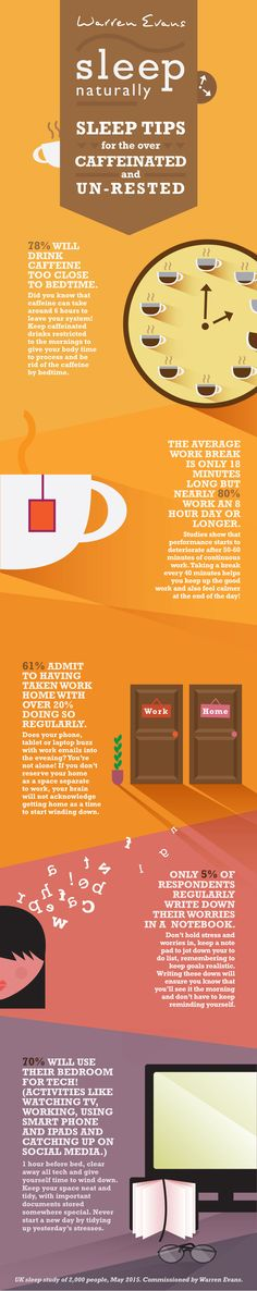 Sleep tips for the over caffeinated and un-rested!