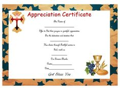 Certificate of appreciation for pastor guest speaker pastor pastor appreciation certificate sample 1 yadclub Gallery