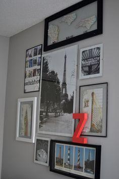 Under the Oaks blog: Crystal's Home Office Reveal #diy #homerenovations #beforeandafter #homedecor
