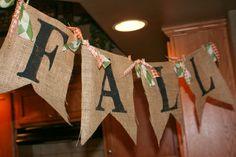 The Clark Family: DIY Fall Banner