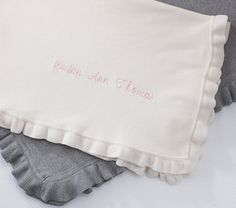 Rose Throw Blanket | Pottery Barn Kids