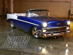 Classic 56  Chevy Bel Air Convertible