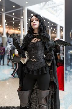 """David """"DTJAAAAM"""" Ngo's photo galleries featuring thousands of cosplay pictures from anime, video game, and comic book conventions across the USA. Cosplay Diy, Cosplay Outfits, Halloween Cosplay, Best Cosplay, Cosplay Girls, Steampunk Cosplay, Yennefer Cosplay, Yennefer Of Vengerberg, Goth Beauty"""