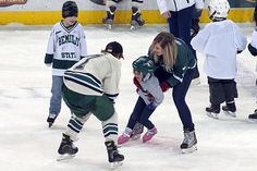 The Bemidji State men's hockey team enjoyed a chance to get to know some of its biggest fans better Saturday (1/5/13) at the team's annual Skate with the Beavers event. Nearly 100 area youth participated. For more images, check out our photo gallery: http://www.bsubeavers.com/mhockey/photos/2012-13/337/