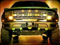 Ford Raptor... love the green!!