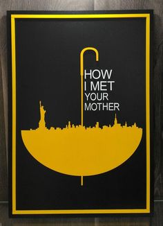 Quadro How I Met Your Mother - Art Cut Lab | Itens de decoração, quadros e mandalas.