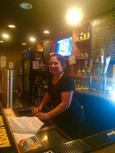 Our favorite Bartender  Sthepanie Dorner