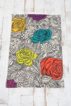 Urban Outfitters: Colouring Book Floral