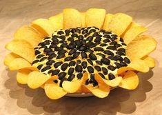 Insalata Girasole Ricetta Antipasto mousse patate tonno olive nere patatine Pringles