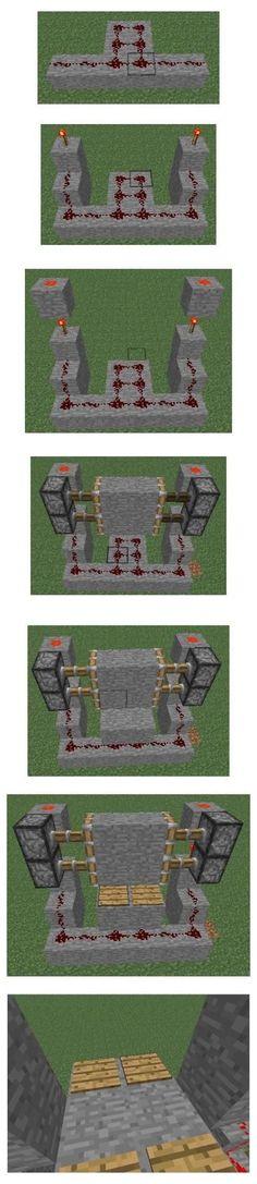 Minecraft Redstone Creations, Plans Minecraft, Minecraft Building Guide, Easy Minecraft Houses, Amazing Minecraft, Minecraft Tutorial, Minecraft Blueprints, Minecraft Memes, Minecraft Crafts