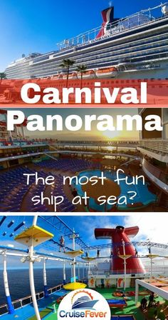 We just sailed on Carnival Panorama and just had to share our experience with Cruise Fever readers.  Check out a video tour of this ship and see all the fun you can have on this new Carnival cruise ship!#carnivalpanorama #carnivalcruise #carnivalcruiseship #cruisefever
