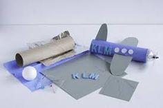 Afbeeldingsresultaat voor vliegtuig knutselen