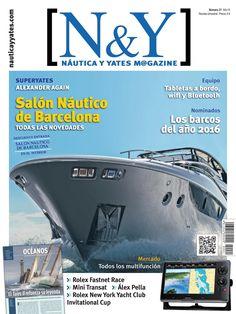 El Salón #Náutico de #Barcelona en la revista N&Y #Náutica y #Yates Magazine 21.
