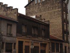 Un des bâtiments industriels de Villeurbanne