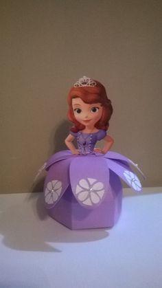 Caixa bala Princesa Sofia