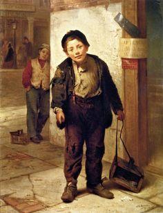 靴磨き(1866年)
