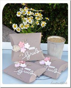 Pillow Box kleiner Gruß