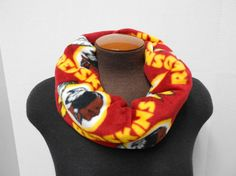 Washington Redskins Fleece Infinity by NotWithoutAnnette on Etsy, $18.00