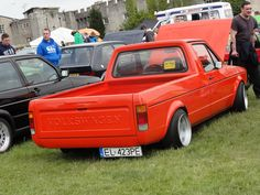 VW Caddy Pickup