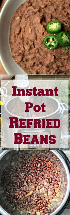 Refried Beans Made Easy In The Instant Pot