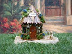 Fairy Garden House/ Stone Fairy House/ Fairy by TheHealersGarden