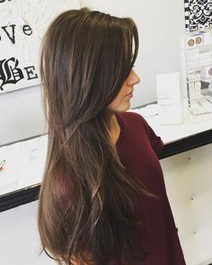 Long Layers for Thin Hair More